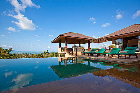 The Sala and Infinity Pool with an incomparable view