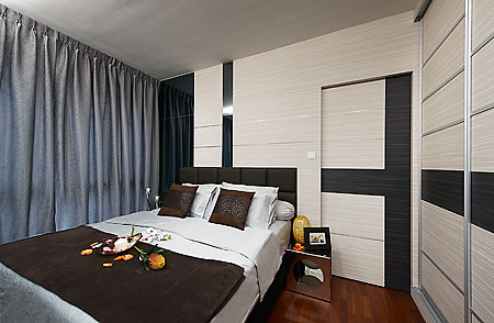 Your bedroom can be furnished to suit its space
