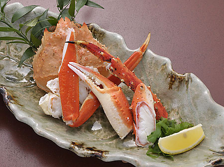 Delicious crab and other fresh seafood are sure to please