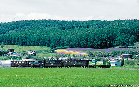 Scenic train rides through Japanese countryside are part of the package