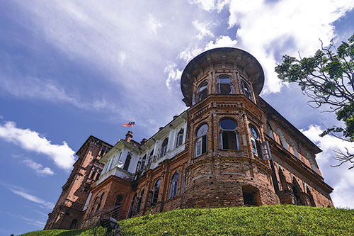 Kellie's Castle is unfinished yet magnificent
