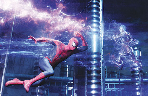 Spidey gets in a tangle with Electro