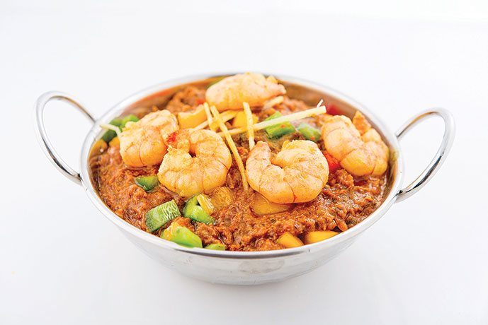 Masala Prawn Curry