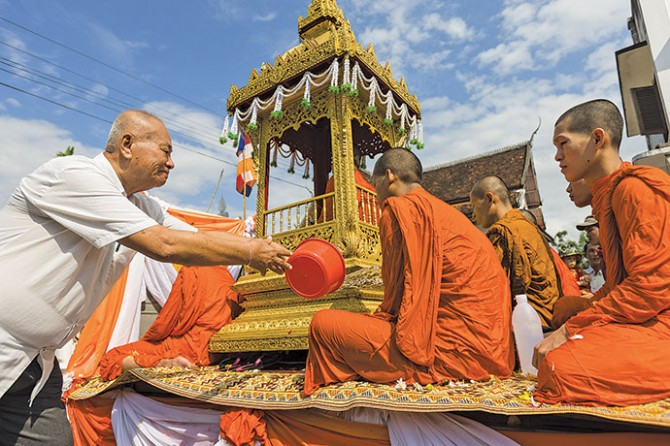 Buddhist celebration to usher in fortune and health