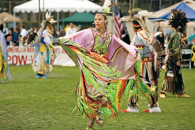 Dance plays a large part in powwows Photo: Jose Gil / Shutterstock.com
