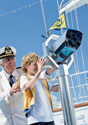Cruises can be fun for all ages