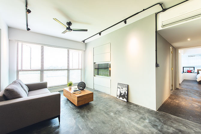 small living room ceiling lighting ideas - Concrete Ideas Weekender Singapore