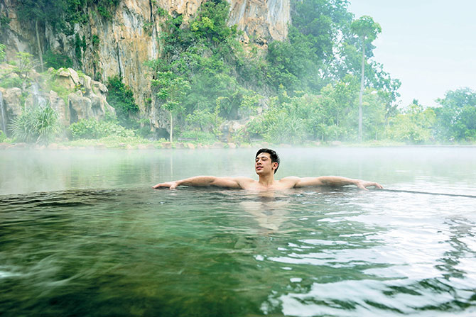 A spa in the midst of nature is a heavenly experience