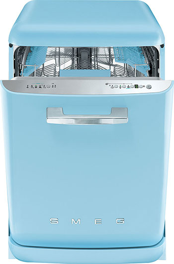 The Dish Take the drudgery out of after-party wash-ups with the Smeg FAB dishwasher. Its retro '50s aesthetic is accompanied by Smeg's high-performance technologies, making cleaning up an easy and fun affair.  $3,480, from APS Lifestyle