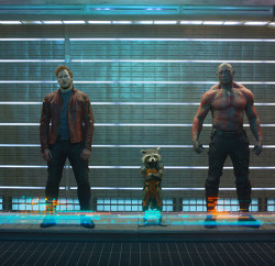 Guardians of the Galaxy director James Gunn and stars Dave Bautista and Zoe Saldana recently paid a visit to Singapore