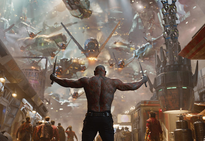 """Guardians of the Galaxy gives a whole  new meaning to the word """"epic"""""""