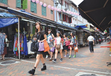 Shopping for bargains is top of the list for Singaporean travellers