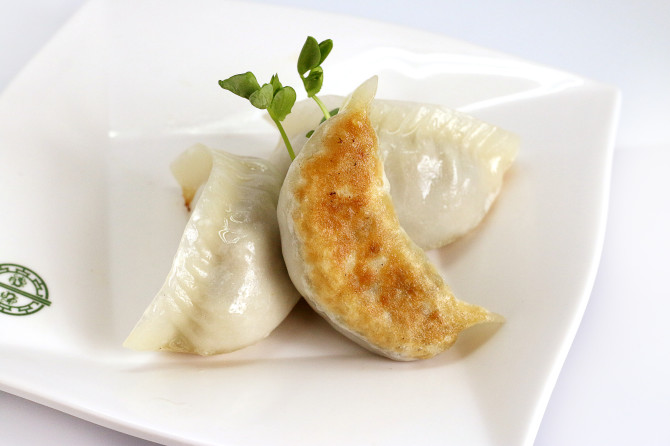 Their Pan Fried Dumplings with Leek is nothing to rave about
