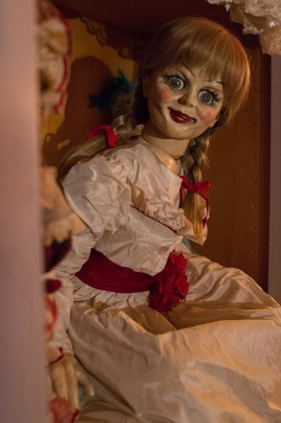 Ain't no dollface Even a still of Annabelle alone raises neck hairs