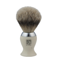 Invest in a shaving brush which helps in application of the shaving cream