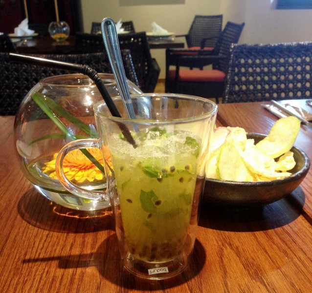 Their Passionfruit Mojito is a nice complement to the equally flavourful dishes
