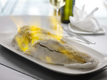 Salt Baked Sea Bass 1