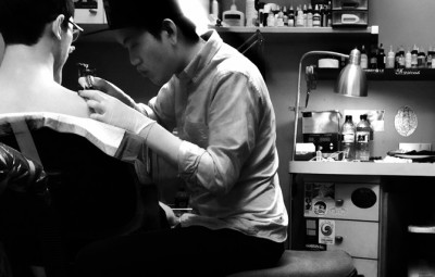 Charles is only 21 and already an established tattoo artist in Singapore