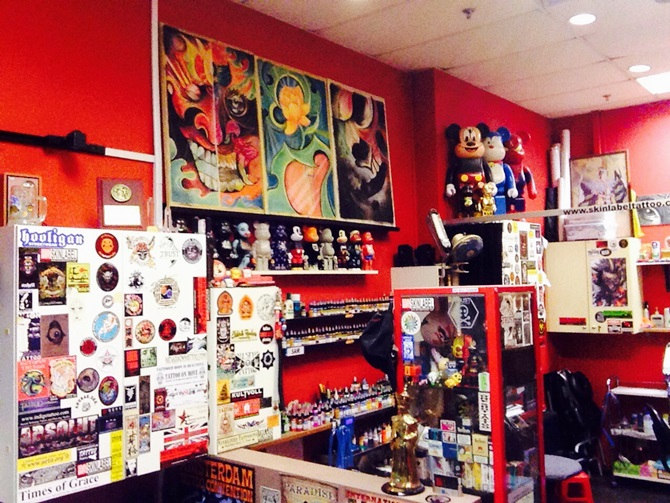 Their studio, tucked inside Sunshine Plaza, sees a regular flow of customers everyday