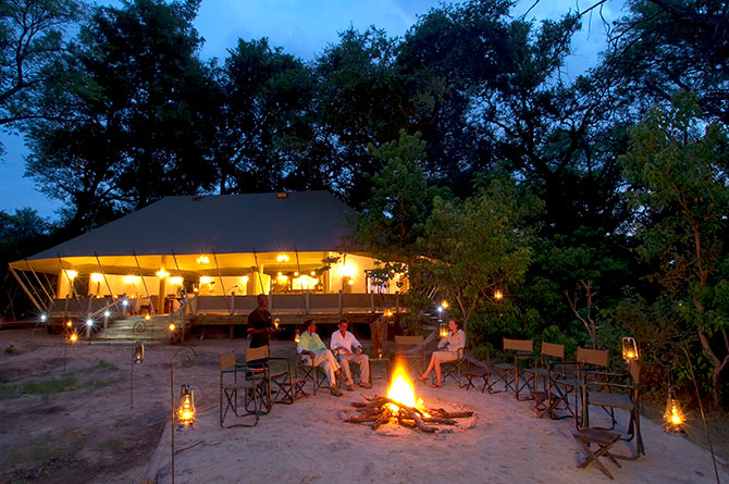 Experience morning and evening game drives,  river safaris, bird watching, bush meals and sundowners among other activities