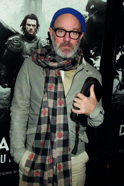 R.E.M. lead singer and film producer Michael Stipe
