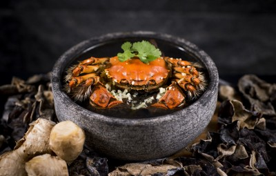 Peony Jade - Steamed hairy crab with homemade Chinese rice wine_5380