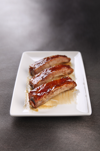 Caramelised Roasted Pork Ribs