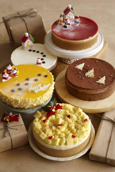 Decorated Cheesecakes