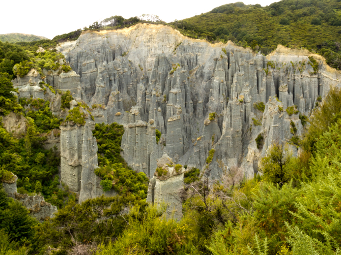 The Putangirua Pinnacles in Wairarapa was the haunt of the Army of the Dead