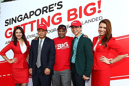 AirAsia BIG loyalty programme low cost airline launch benefits enhanced accumulate points redemption rewards booking flight