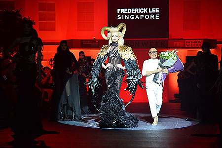 FIDe Fashion Week Frederick Lee show blog shop love bonito dark