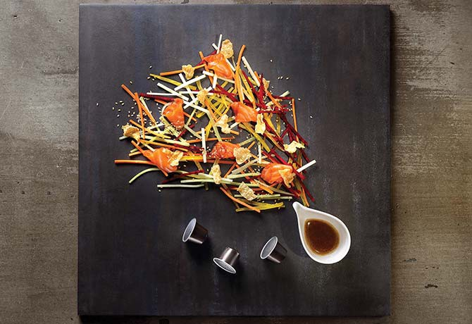 #120_food_Lo-Hei---with-coffee-cured-salmon-with-Roma