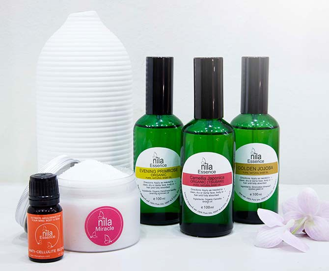 Nila products are free of parabens, artificial colours and chemical fragrance