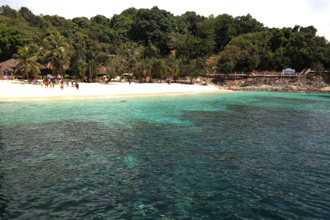Take a day trip out snorkelling to other hotspots at the nearby Redang Island