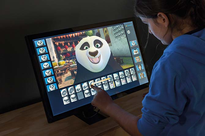 Experience how different expressions are created for your  favourite DreamWorks animation characters