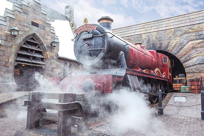 The Wizarding World of Harry Potter is one of the star highlights at Universal Studios Japan