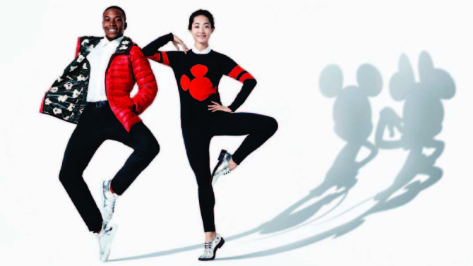 Image photo of the new UNIQLO's Shadow Magic advertising campaign