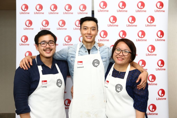 Our Local Contestants (L-R- Woo Wai Leong, Lennard Yeong, Sandrian Tan)_Credit to Lifetime Asia