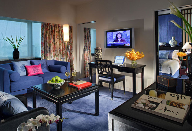 Orchard Hotel's Ming Blue Signature Suite