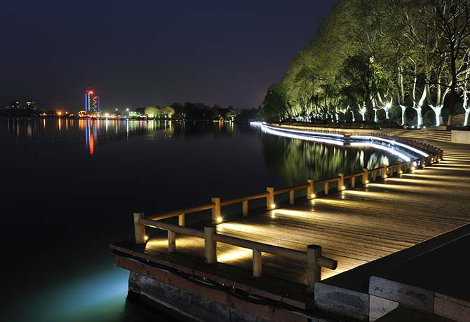 An emphasis is placed on nature in Nanjing