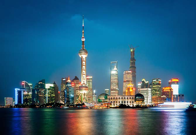 Shanghai is one of China's metropolises