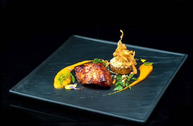 Marinated Red Miso Cod will be available at Violet Herbs in Restaurant Week
