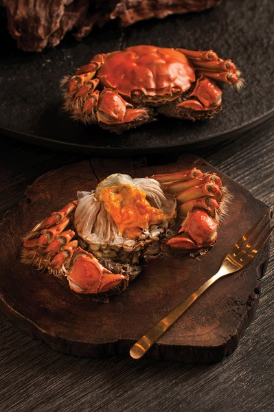 Crystal Jade Hairy crab promotion - Steamed Hairy crab