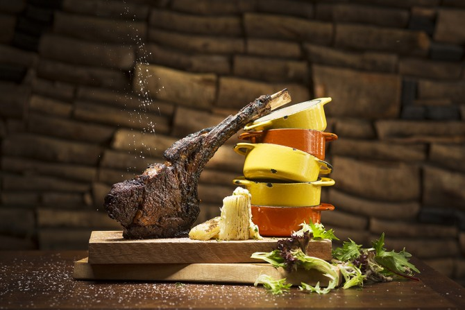 Cape Byron 100 Day Grass-Fed Angus Tomahawk 1kg