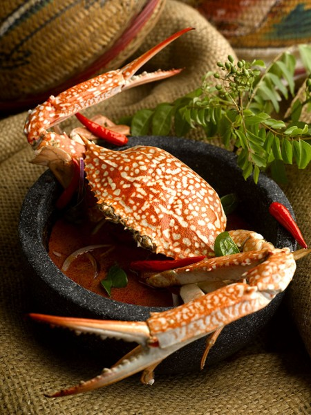 Curry Flower Crab