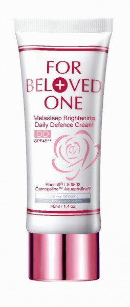 For Beloved One Melasleep Brightening Daily Defence Cream in Rose