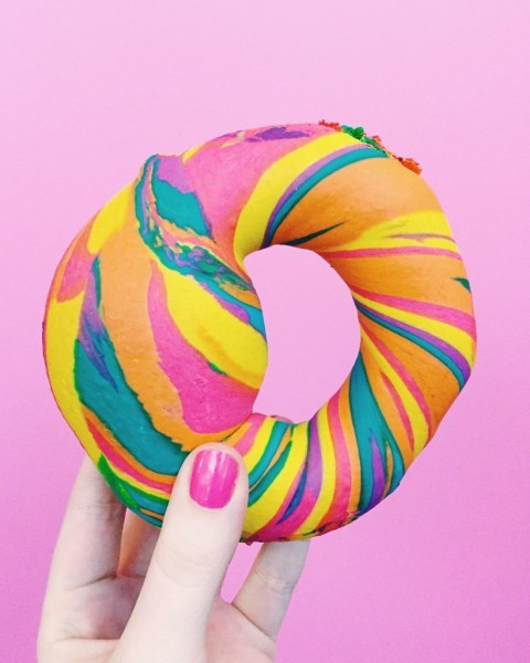 Rainbow-Bagels-From-Bagel-Store