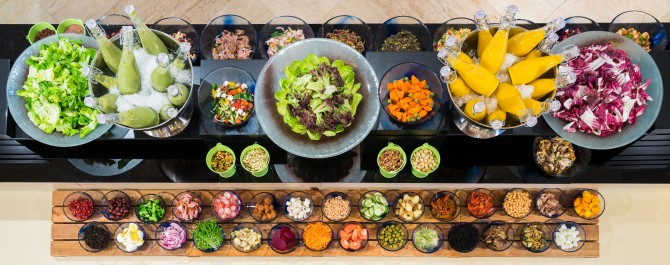 Oscar's Sunday Brunch_Salad Bar