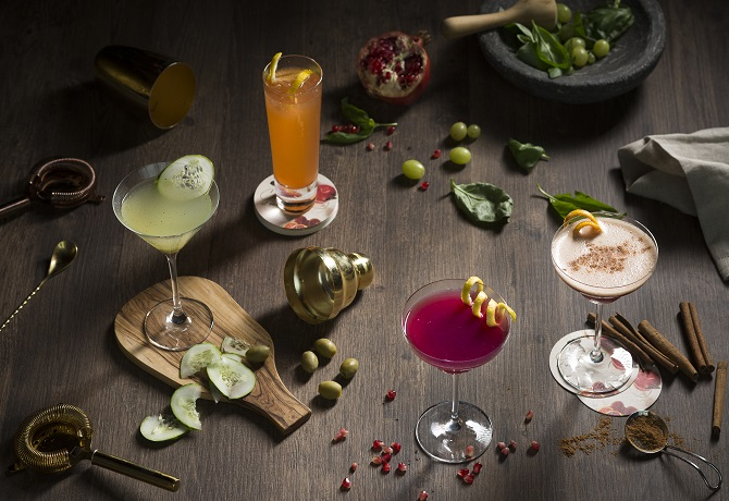 Craft your own drinks at the westin singapore weekender for Cocktail 670