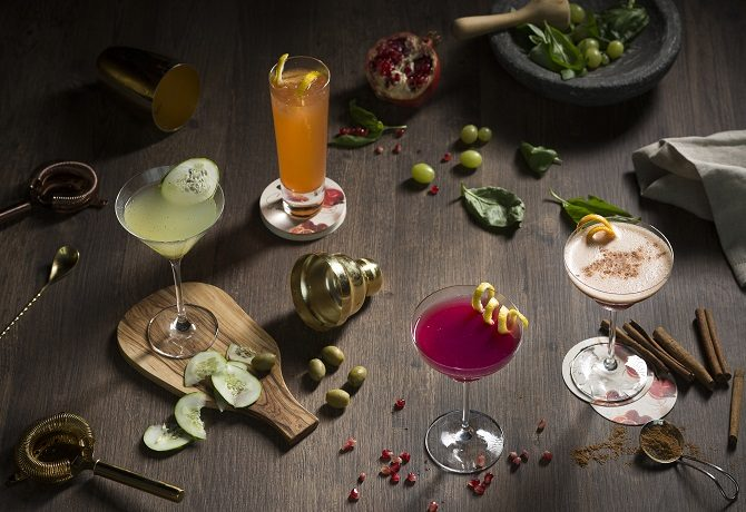 Crafted at Westin - Cocktails 670